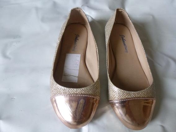 Zapatos Dorados Para Niñas 29