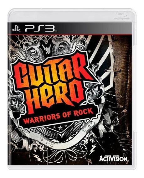 Guitar Hero Warriors Of Rock Ps3 Mídia Física Pronta Entrega