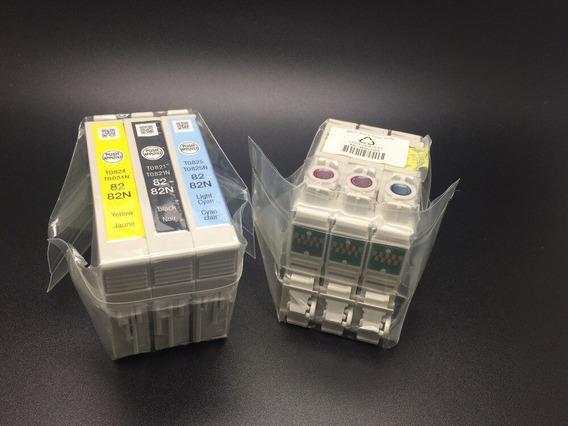Set 82n Cartuchos Epson Original Modelos R270/r290/r295/r39