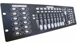 Control Dmx Controlador 16 Ch Luces Inteligentes Roboticas