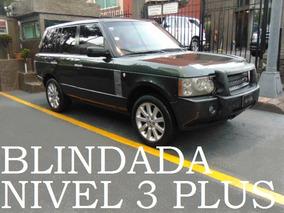 Range Rover Hse Sc 2008 Blindada Nivel 3+ Blindaje Blindados