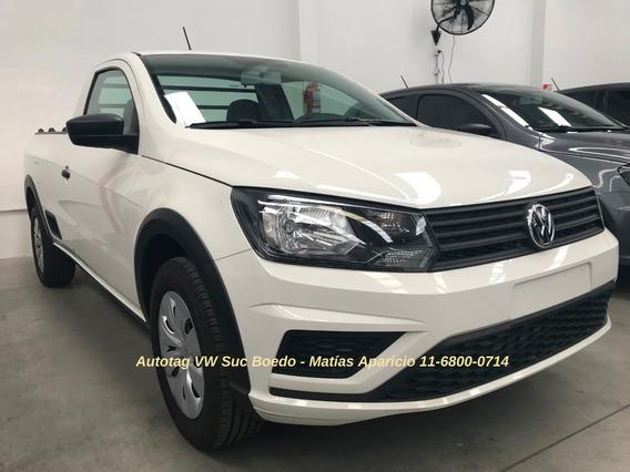 Volkswagen Vw Saveiro Cab Simple Trendline Imperdible #a2