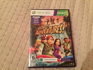 Juego Kinect Adventures Xbox 360 Original, Excelente Estado!