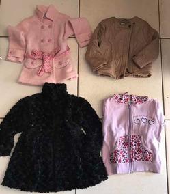 Lote/kit Roupa Inf Feminina Usada Tamanho De 1 A 4 Anos
