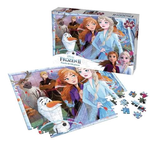 Puzzle De 120 Piezas Rompecabezas Frozen 2 Tapimovil