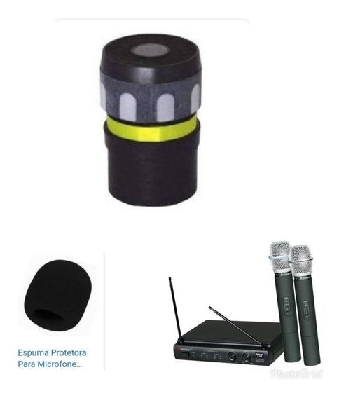 Capsula Microfone Karset Tsi Lyco Vokal Jwl Brinde 1 Espuma