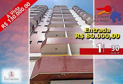 Kitnet Com 1 Dormitório À Venda, 30 M² Por R$ 130.000 - Cidade Ocian - Praia Grande/sp - Kn0091