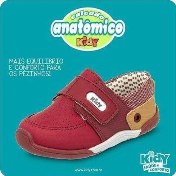 Tênis Infantil Menino Kidy 00803711459 Marsala Promoção