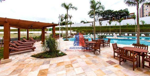 Apartamento Com 3 Dormitórios À Venda, 69 M² Por R$ 300.000 - Residencial Side Club - Vila Santa Catarina - Americana/sp - Ap1018