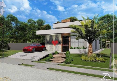 Buona Vita Atibaia Casa Térrea Com 03 Dormitórios - Ca0488