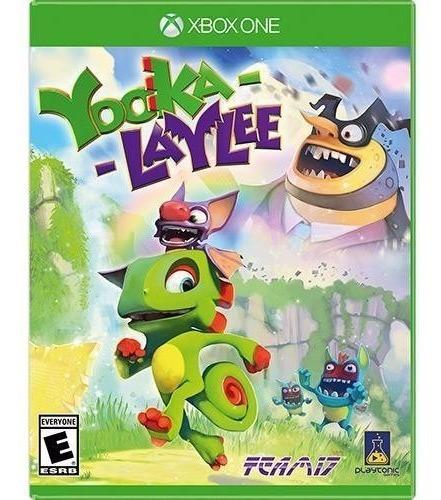 Jogo Mídia Física Yooka Laylee Original Para Xbox One