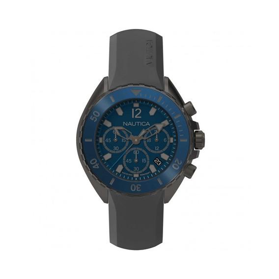 Náutica Napnwp003 Reloj Análogo, Color Azul/gris