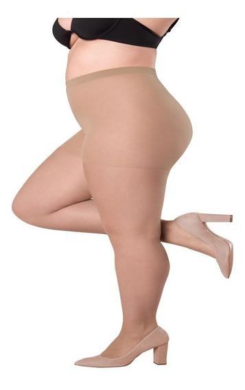 Meia Calça Plus Size Fio 20 Até 120 Kg Loba Lupo