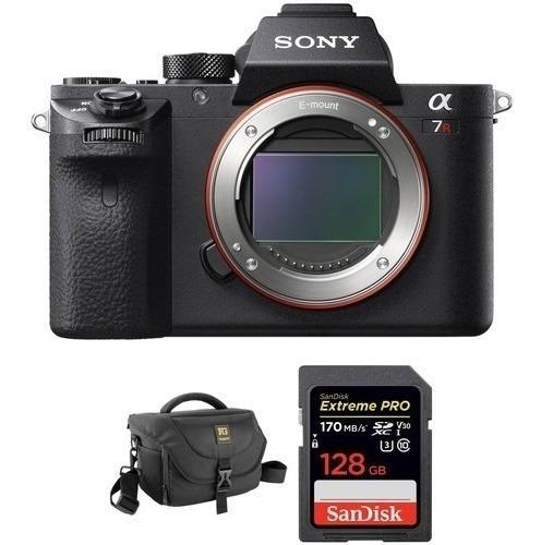 Sony Alpha A7r 4 Mark Iv Mirrorless Camera Bolsa E Cartão