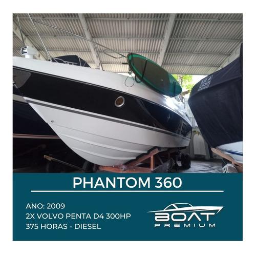 Phantom 360, 2009, 2x Volvo Penta D4 300hp - Ferretti