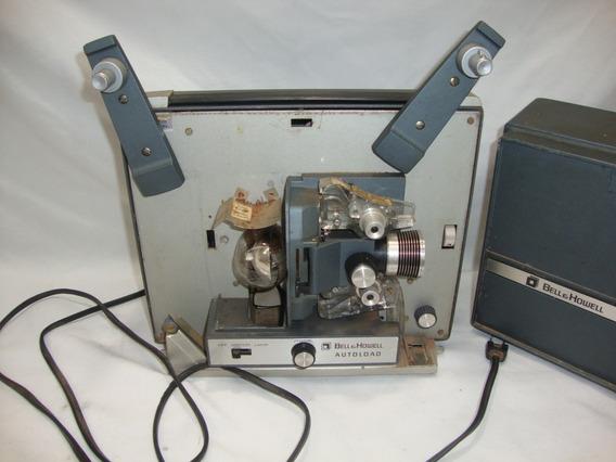 Antigo Projetor Filmes Bell E Howell Auto Load