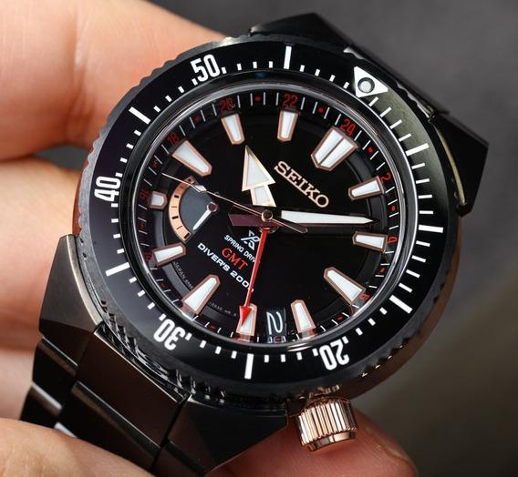 Relógio Seiko Prospex Spring Drive Transocean Gmt Sbdb018
