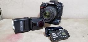 Camera Nikon D600 Com Lente 18-150 Com Flash