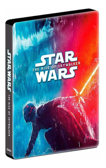 Steelbook Blu-ray Duplo Star Wars: A Ascensão Skywalker