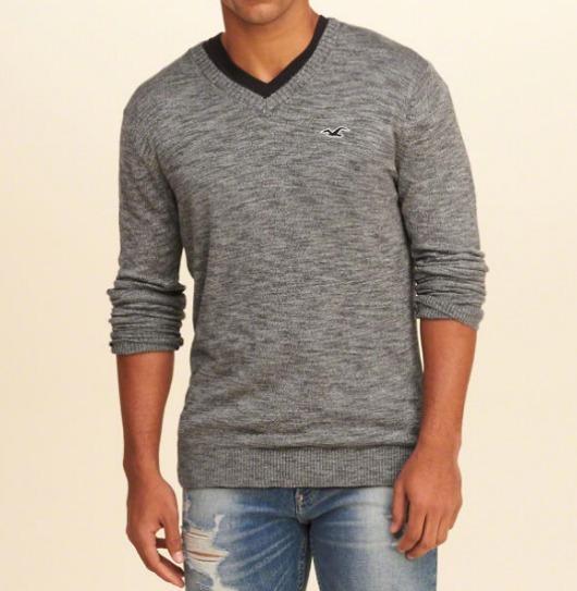 Hollister Suéters Masculino - Sweater Original Frete Grátis