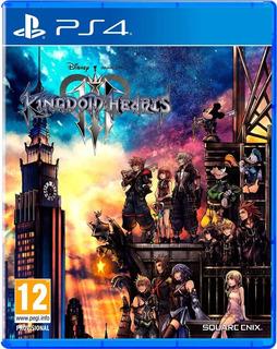 Kingdom Hearts 3 Ps4 Fisico Sellado Original Juegos Ps4