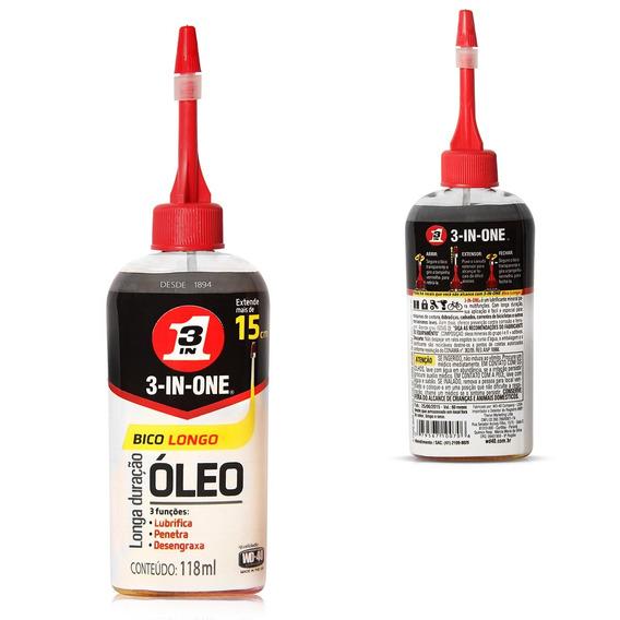 Oleo Lubrificante Desengraxante Protetor 3 Em 1 Wd-40 118ml