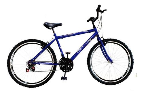 Bike Aro 24 18 Marchas C/ Aros Aero Vzan