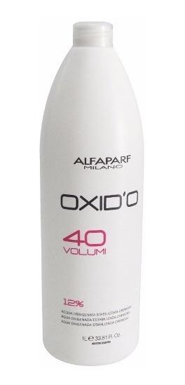 Alfaparf Oxidante 40 Volúmenes X 1000 Ml Para Tintura Color