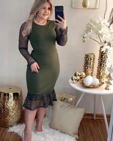 Vestido Evangelica Tamanho Unico Veste Ate 44 Moda 2019