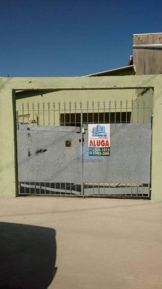 Casa Com 1 Dormitório Para Alugar, 42 M² Por R$ 700,00/mês - Jardim Santa Clara Do Lago I - Hortolândia/sp - Ca0468