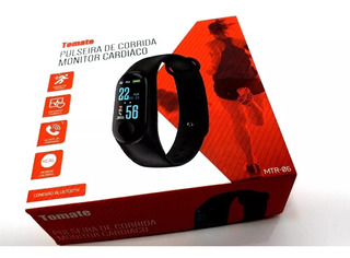 Relogio Tomate Corrida Fit Monitor Cardiaco Bluetooth Mtr06