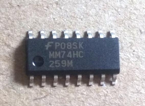 96 Pçs 74hc259 Smd So-16 (mm74hc259m) Novo Original