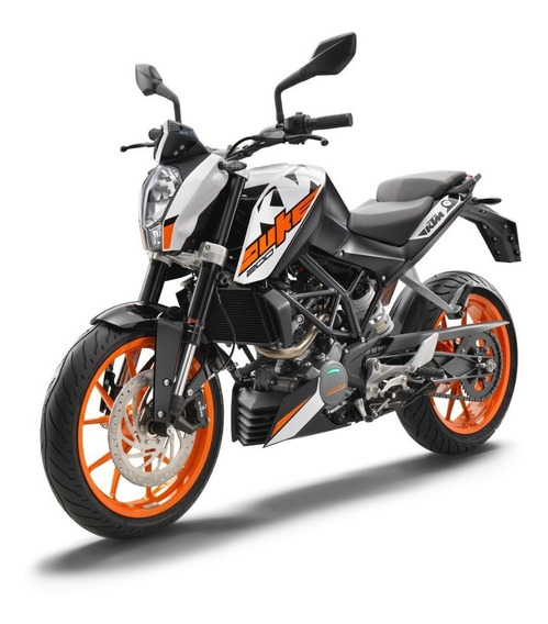 Ktm Duke 200 0 Km Blanco