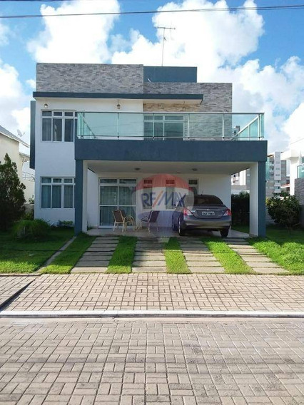 Casa, 04 Dormitórios, 04 Suítes, 01 Closet, 02 Garagens Cobertas, Piscina, Solarium. - Ca0291