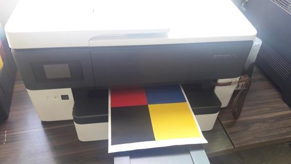 Impressora Hp 7720 Bulk Ink, Grátis Kit De Tinta