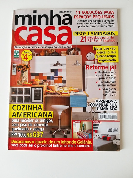 Revista Minha Casa 06 De Outubro De 2010
