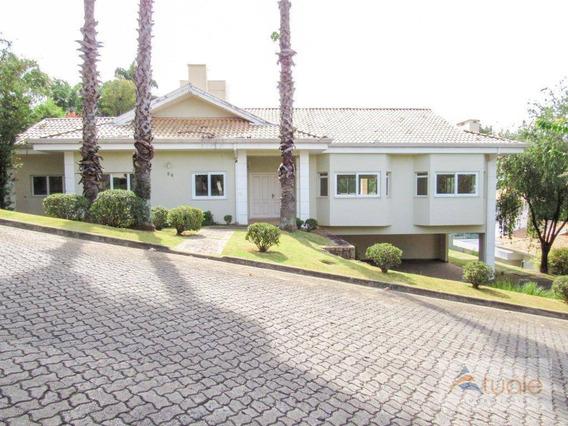 Casa Com 4 Dormitórios À Venda, 450 M² - Condomínio Colina De Santander - Campinas/sp - Ca6270