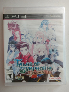 Tales Of Symphonia Chronicles Ps3 Nuevo Sellado!!!