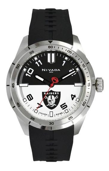 Raiders Reloj Nivada Fans Collection Nfl