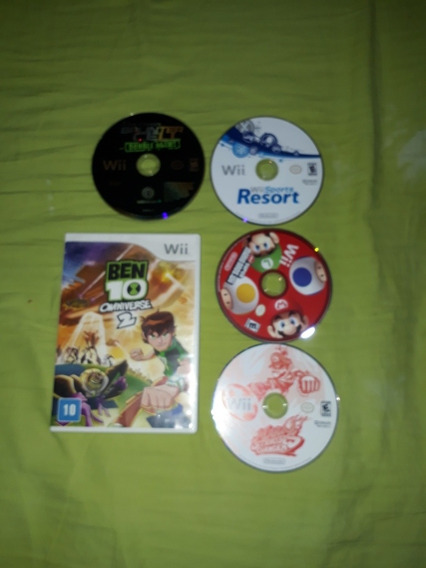 Lote Jogos Wii