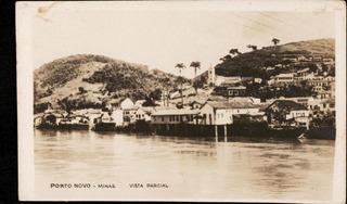 Cartão Postal Antigo Porto Novo Além Paraiba Minas Gerais