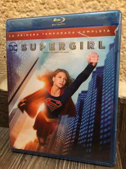 Supergirl Temporada 1 Dc Cómics Kripton Supermán Blu-ray