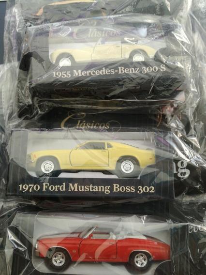 Autos Clásicos × 3 Unidades Mercedes 1955 /mustang/chevelle