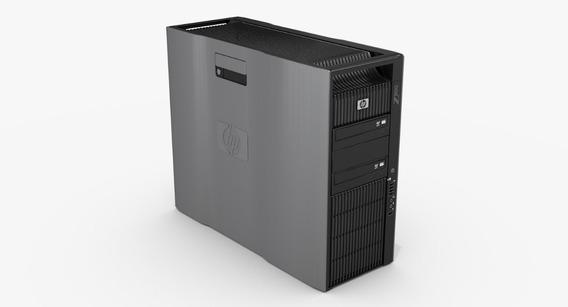 Workstation Hp Z800 Dual Xeon Six Core 96gb Hd De 320gb