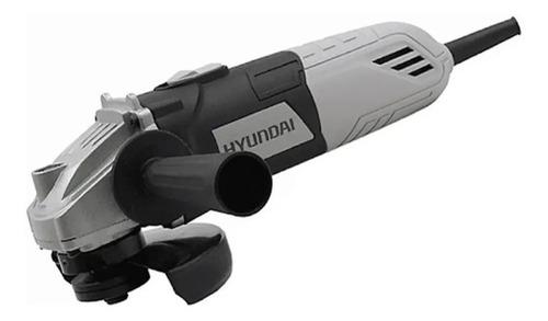 Amoladora Angular Hyundai 115 Mm 11000 Rpm 600 Watts Hy6010