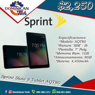 Tablet Sprint Slate 8 De 7 Pulgadas