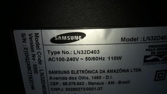Placa Principal E Fonte Para Tv Samsung