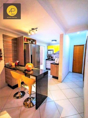 Imagem 1 de 30 de Apartamento Com 2 Dorm E Suíte À Venda, 76 M² - Vila Brasileira- Mogi Das Cruzes/sp - Ap0273