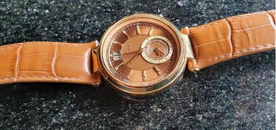 Relógio Michael Kors Feminino Sawyer Cronógrafo Mk2424/2mn