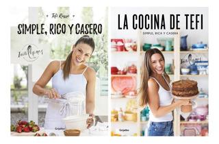 Pack Cocina Tefi Russo - Inutilisimas - 2 Libros - Grijalbo